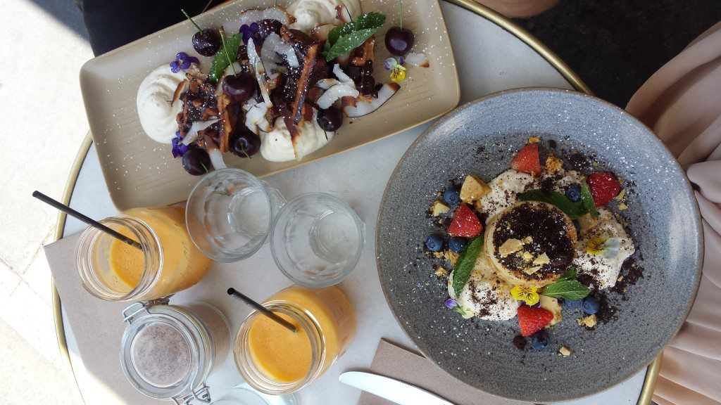 Brunch/Breakfast at From on High in Melbourne. There are a lot of amazing restaurants in Australian cities