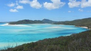 Swirl of the white sands and turquoise waters at Hill Inlet. Such a beautiful place at the Whitsundays