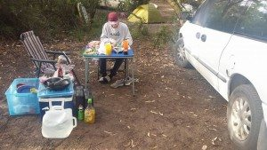Dinner, Camping, amazing, road trip