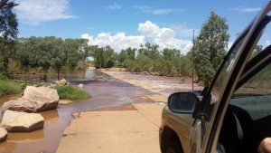 Flooded, Western Australia, Wyndham, Margaret River