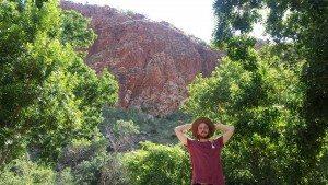 Lake Argyle, happy, backpacker, Lake Argyle Resort, backpacking, traveling, Australia, Kimberley, The Kimberley Region, Outback, Kununurra, Jewel of the Kimberley, CHAPTERTRAVEL, Main Ord Dam
