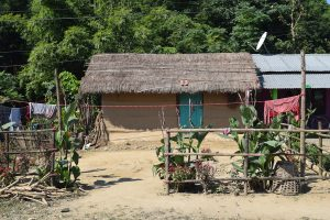 House in Sauraha, Chitwan National Park, Nepal