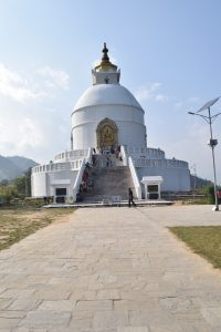 On the boat to the Peace Pagoda, things to do in Pokhara, Pokhara, Chapter Travel, Fewa Lake, Peace Pagoda