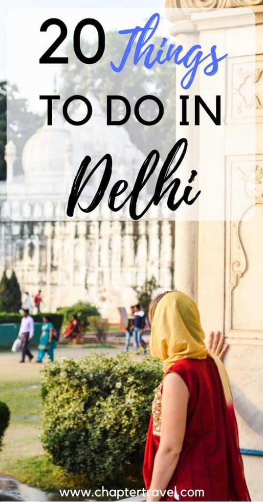 In this post we share 20 things to do in Delhi, India. There are a lot of beautiful temples, but also other cultural gems that are worth visiting
