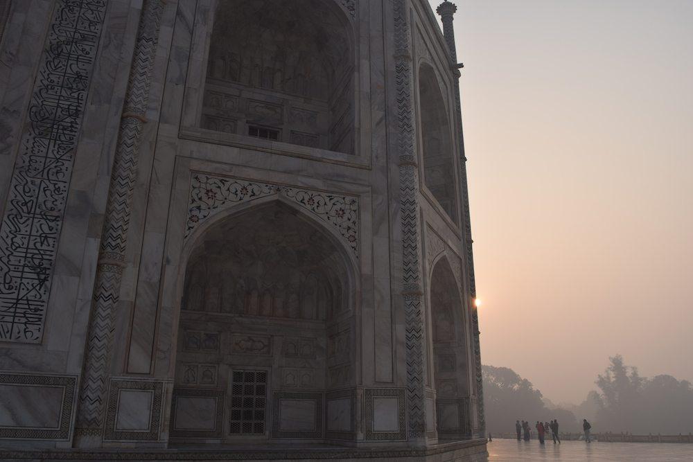 Visiting the Taj Mahal, Taj Mahal from the side, Tips for the Taj Mahal
