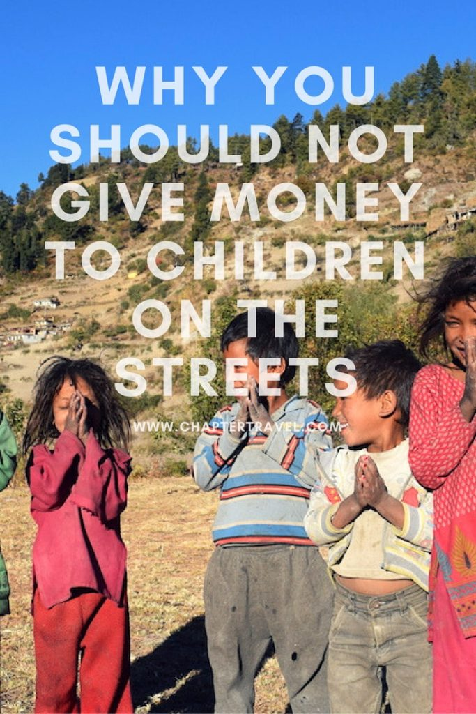 Why you should not give money to children on the streets
