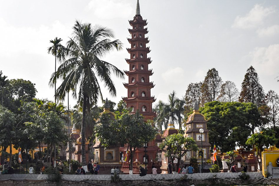 Visiting Hanoi during Tet Lunar New Year, Tran Quoc Pagoda, West Lake, Visiting Hanoi during Tet (Lunar New Year), Visit Vietnam, Vietnam, Hanoi, Tet, Year of the Rooster, Things to do in Hanoi