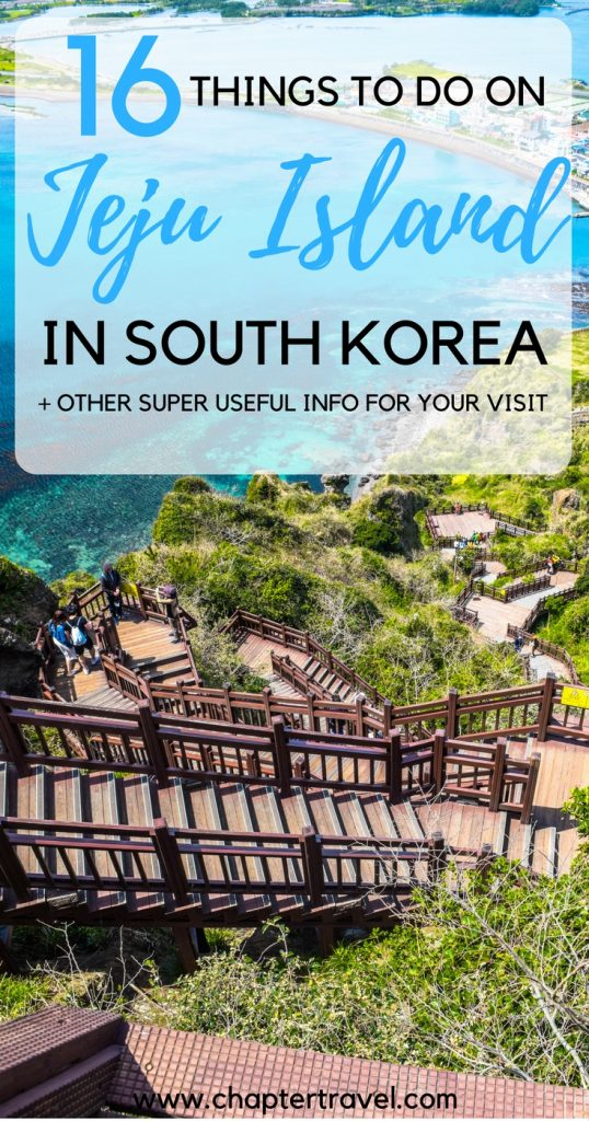 16 things to do on Jeju Island and other useful for your visit on Jeju Island in South Korea. It's an absolutely beautiful place in South Korea, people in Korea refer to it as the Hawaii of Korea.