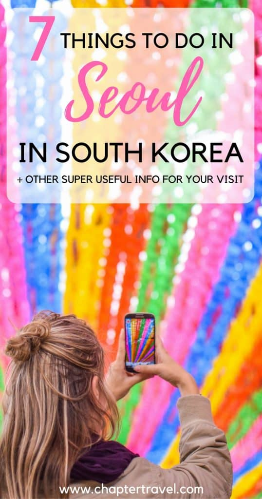 This is a complete guide for your visit to Seoul in South Korea. We share 7 fun things you can do here, but also share other useful information for your stay in Seoul. Such as facts about Seoul, where to stay in Seoul, Restaurants in Seoul and how to travel around in Seoul