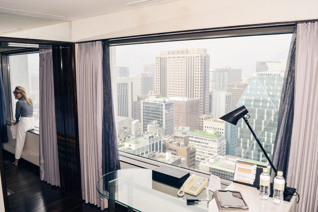 Lotte Hotel Seoul - View from our room, Things to do in Seoul, Complete Travel Guide Seoul