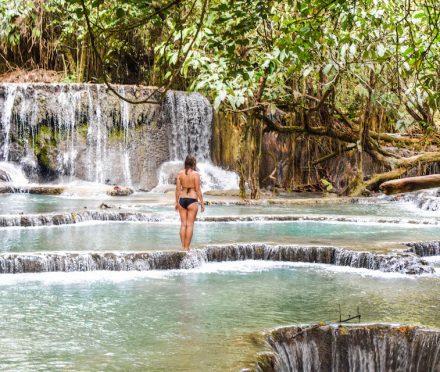 Not everyone is able to travel, Why not everyone can travel, Laos, Luang Prabang, Kuang Si Waterfall