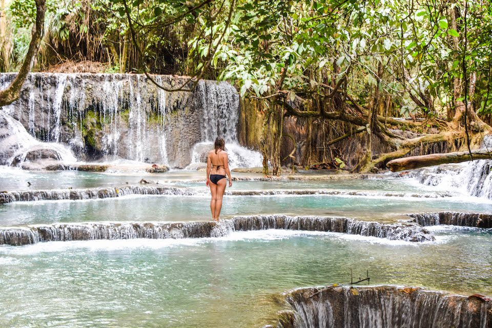 Not everyone is able to travel, Why not everyone can travel, Laos, Luang Prabang, Kuang Si Waterfall