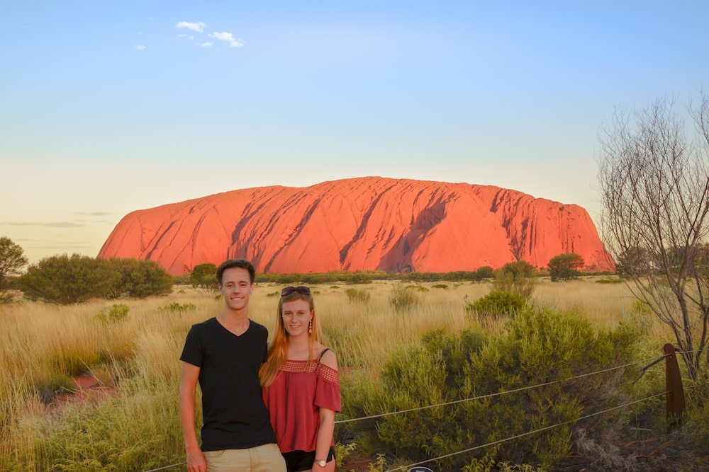 Travel Couples Share the Best Part about Travelling Together, travel couples, travelling together, wanderlust, couple inspiration, #travelcouple, what is the best part about travelling together, what is the best part about travelling as a couple, Australia, Ulururu, chapter travel, Nomadic couple, Luxurybackpacking