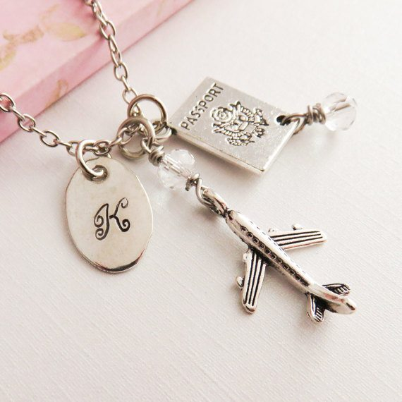travel inspired jewellery, travel inspired jewelry, gifts for her, perfect necklace for her, travel gifts for her, travel inspired necklace, world pendant, pendant with travel quote, pendant with compass, personalised bracelet, personalised jewellery, personalised travel jewellery