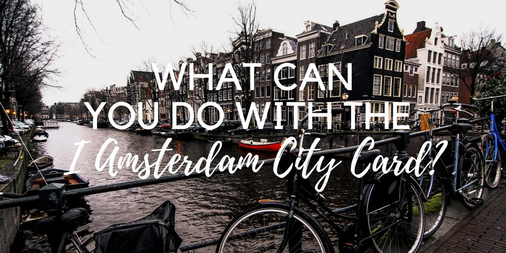 What can you do with the I amsterdam card? Quite a lot of free stuff, like visiting museums, attractions, using the public transportation in Amsterdam