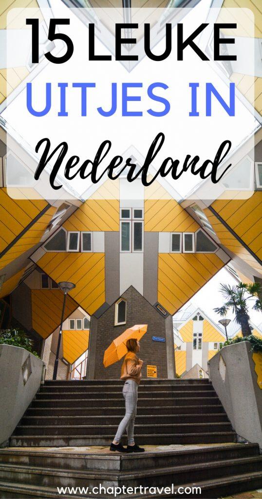 In dit artikel vind je 15 leuke uitjes in Nederland