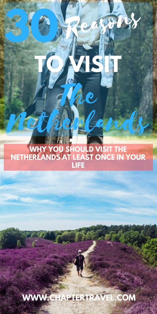 The Netherlands is a pretty cool country and is definitely worth a visit! Don't only visit Amsterdam, because the Netherlands has a lot more to offer. Think about delicious Dutch snacks, family vacation time, amazing history, Dutch art, Dutch beer and more.