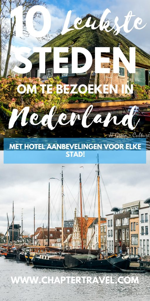 Wat zijn de leukste steden van Nederland? In dit artikel delen we in ieder geval tien hele leuke steden die perfect zijn om te bezoeken als uitje of om een paar nachtjes te blijven!!