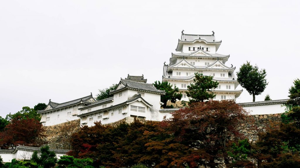 Himeji Castle is a hilltop castle in Japan, located in the city of Himeji Hyogo, Japan. It's seen as the finest surviving example of prototypical Japanese castle architecture.