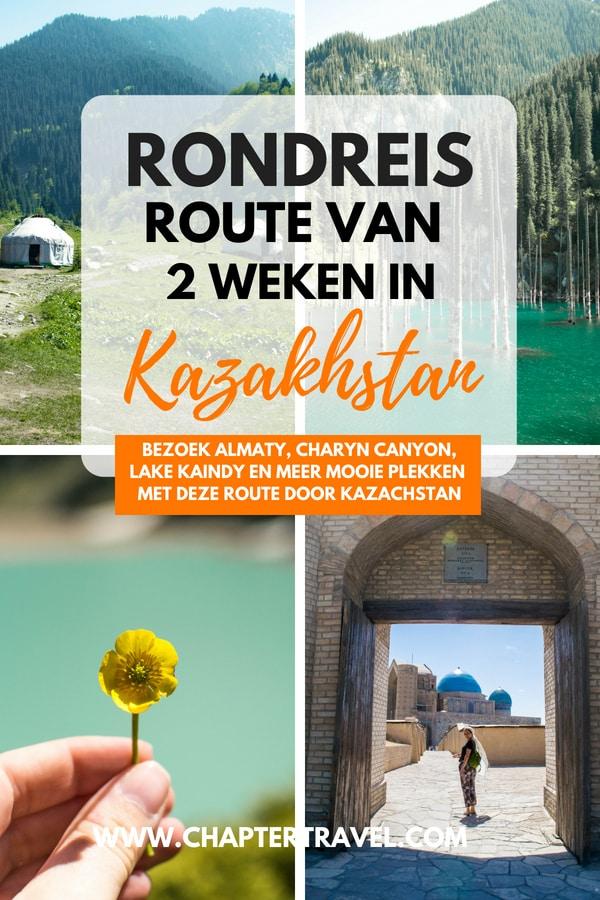 Gebruik deze reisschema van twee weken voor Kazachstan als inspiratie voor je rondreis in Centraal-Azië. Kazachstan heeft een aantal fantastische locaties, zoals Charyn Canyon, Kaindy Lake, Kolsai Lakes, Big Almaty Lake, Altyn-Emel National Park, The Singing Dune, Turkestan en nog veel meer.