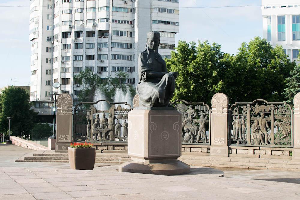Republic Square in Almaty