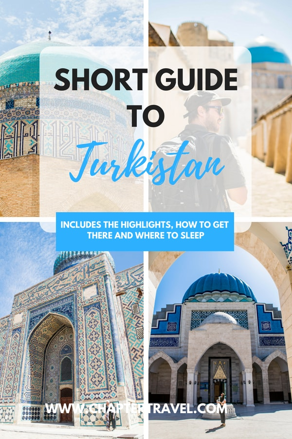 Use this little guide to Turkistan, Kazakhstan to know how to travel to Turkistan and where to stay in Turkistan or Shymkent. This article includes lots of photos of the highlights of Turkistan, such as the famous Mausoleum of Khoja Ahmed Yasawi. #Turkistan #Kazakhstan #CentralAsia