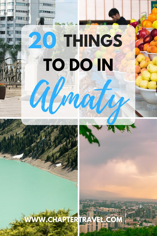 Are you looking for things to do in Almaty? In this post I share some of the highlights, but also other interesting, lesser known, places to visit. This post includes a large variety of activities, from a day trip to Big Almaty Lake or Aksay Gorge, to various interesting museums in the center of Almaty. From partying and drinking at bars, to eating traditional Beshbarmak at Navat. #Almaty