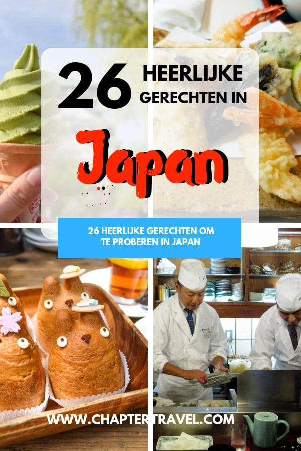 Heerlijk Japans eten! Probeer deze 26 heerlijke gerechten tijdens je reis in Japan!