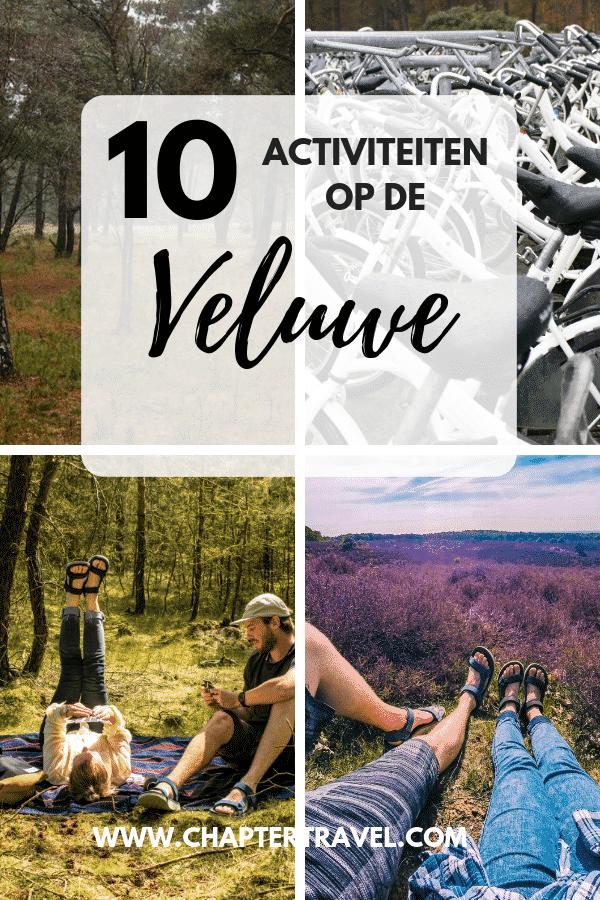 Dagje Veluwe? Of beter nog: een weekendje bij de Veluwe? Goed idee! De Veluwe is een prachtig stukje Nederland en de ideale plek om even bij te komen na een hectische periode. Ook als je niet goed kan stil zitten is er genoeg te zien en te doen. Het is één van de grooste natuurgebieden van Nederland, met bos, heidevelden, zandvlakten, landgoederen en weidegronden.In dit artikel kun je 10 leuke activiteiten op de Veluwe vinden. Een hoop inspiratie dus voor jouw dagje of weekendje weg in Nederland!