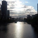 Melbourne, Sunset, Flinders Street, CHAPTERTRAVEL