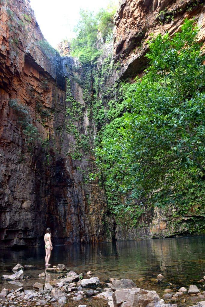 El Questro, Emma Gorge, El Questro Wilderness Park, The Kimberley Region, Kimberley, Australia, Exploring