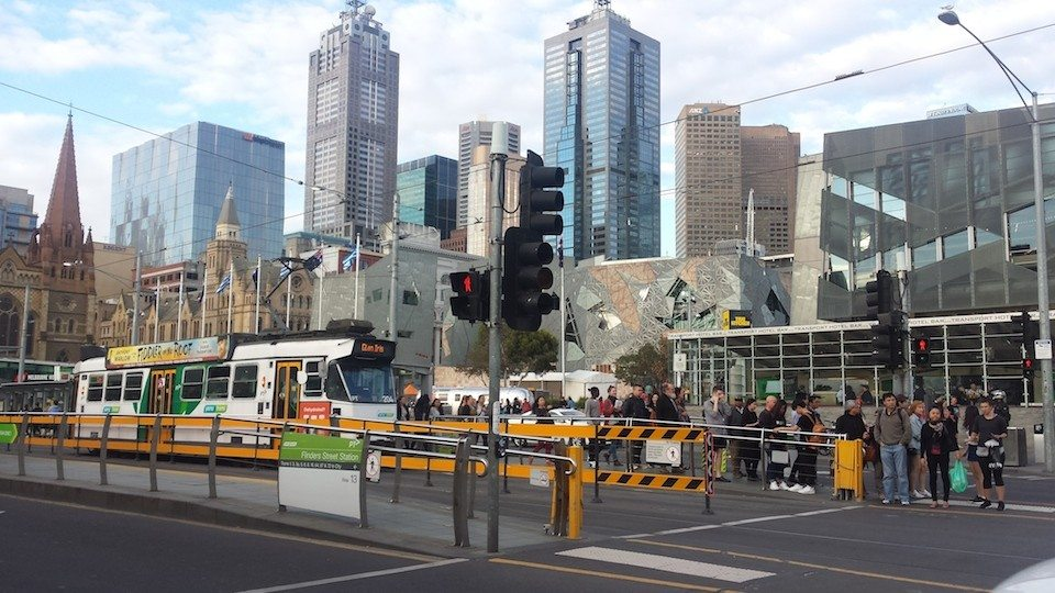 you can actually travel for free within the CBD in Melbourne