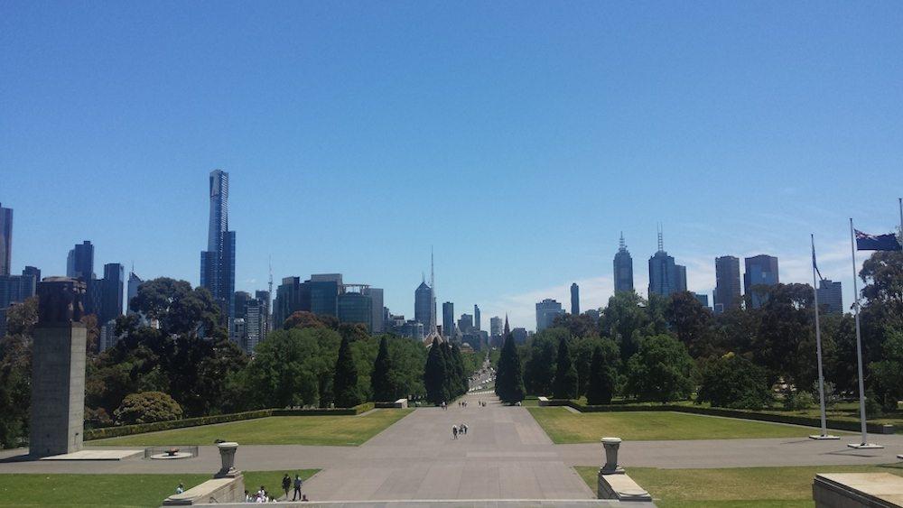 MELBOURNE- shrine of remembrance