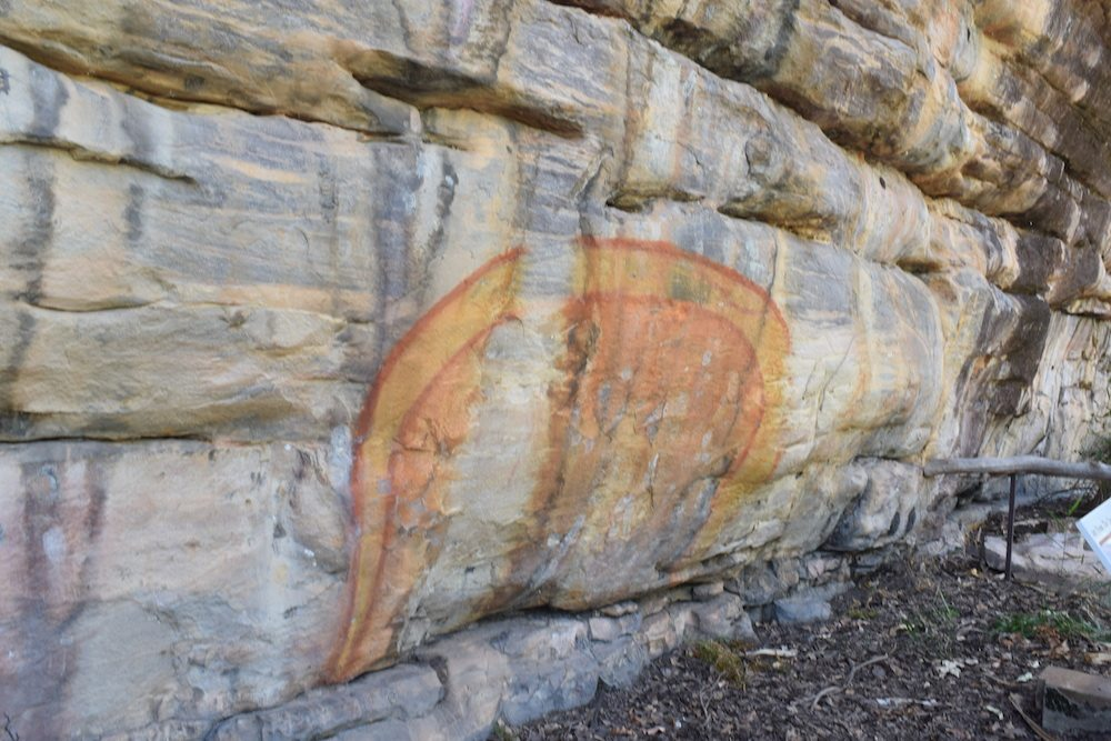 In Kakadu National Park you can explore the aboriginal rock art