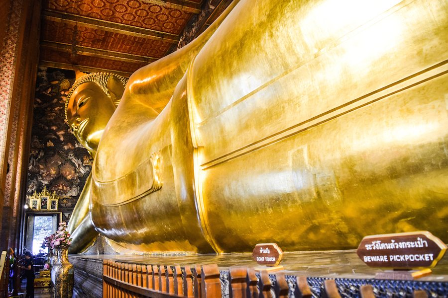 Wat Pho, Things to do in Bangkok, Tips for Bangkok, What to do in Bangkok, The Reclining Buddha