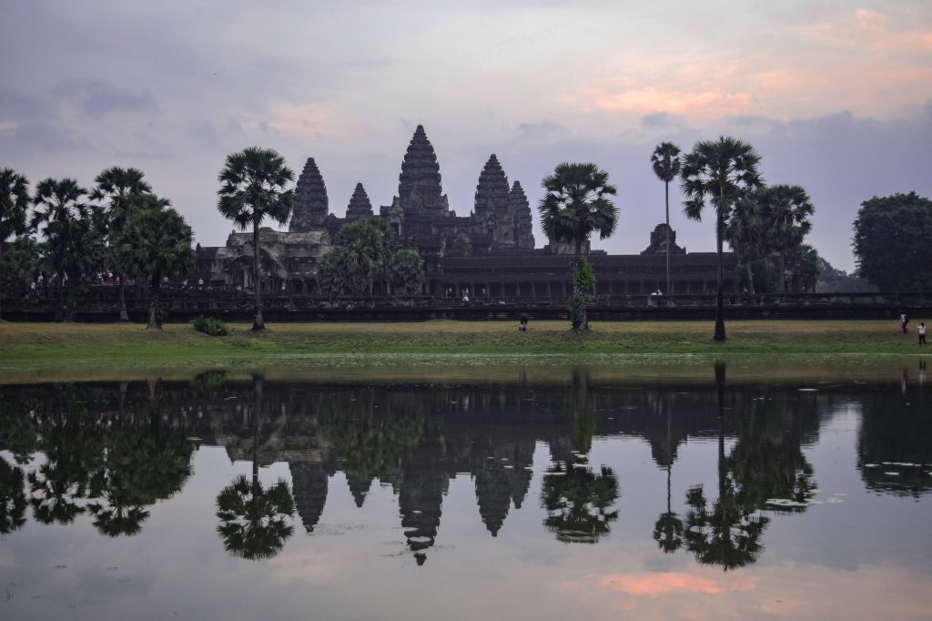Three day itinerary for Angkor Wat, Angkor Wat Sunrise