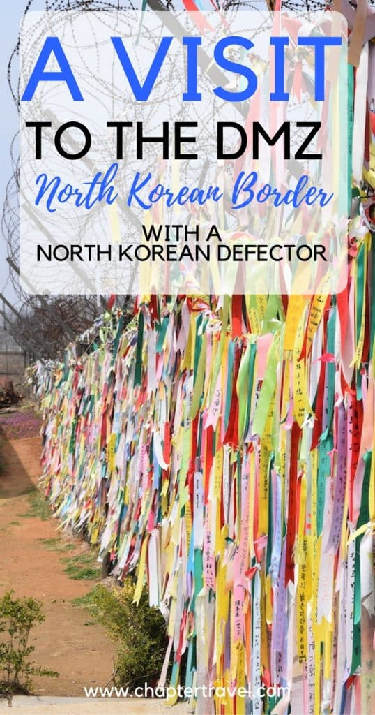 In this Panmunjom Travel Center Review you can learn about our visit to the North Korean Border in South Korea, also known as the DMZ. DMZ stands for Demilitarised Zone. In this post you can read about our experience and our talk with a North Korean Refugee