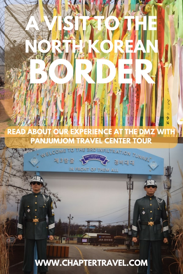 The DMZ tour in Korea is an educational and interesting experience. In this post we share our review about Panmunjom Travel Center and our experience at the DMZ. We also share other possible DMZ tours. #DMZ #Korea