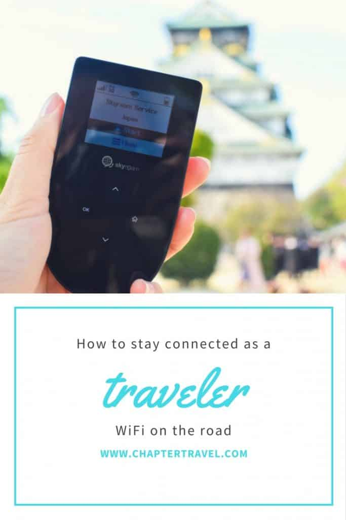 How to stay connected as a traveler, Skyroam, jeju island