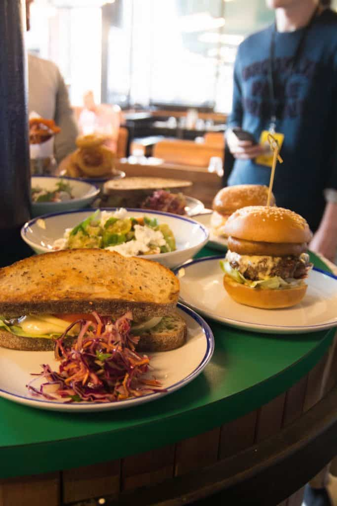 8 Food Hotspots in Manchester, Where to eat in Manchester, Great Restaurants in Manchester, Foodie places in Manchester, Albert Schloss Manchester, Worker Bee Weekender, Visit Manchester, Black Milk Manchester, Northern Soul Grilled Cheese, West Corner Manchester