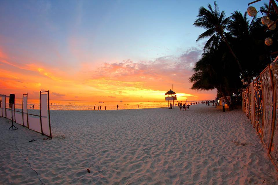 Boracay's Seawind Resort boasts one of the most incredible sunset views of the island on the famous White Beach!