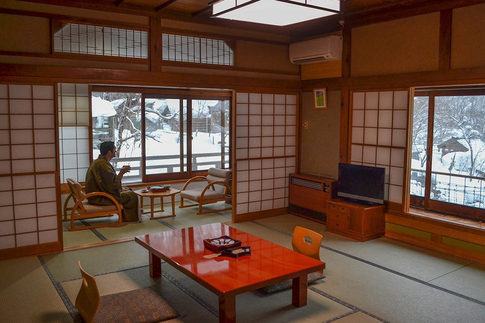 One experience not to be missed in Japan is the traditional ryokan experience, which is more than a hotel stay, but a package of fascinating cultural experiences wrapped into one. And at the Takaragawa Onsen this includes a stay in a Japanese style hotel suite, with heated tatami mat flooring, which overlooks the passing Takaragawa River, and are just ridiculously cosy and hard to leave.