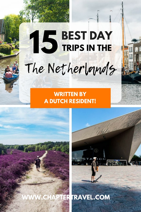 Read this article for 15 very cool day trips in the Netherlands, including some bonus day trips! #Netherlands #Nederland