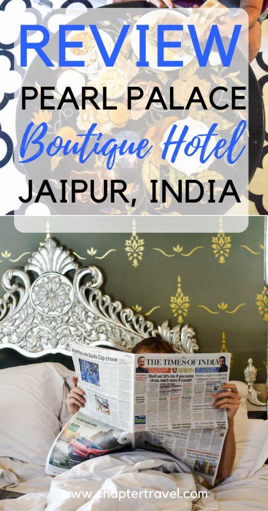 Ben je op zoek naar een goed hotel in Jaipur, India? Wij raden Pearl Palace Heritage Boutique Hotel aan. Een betaalbaar, mooi hotel in Jaipur, India.