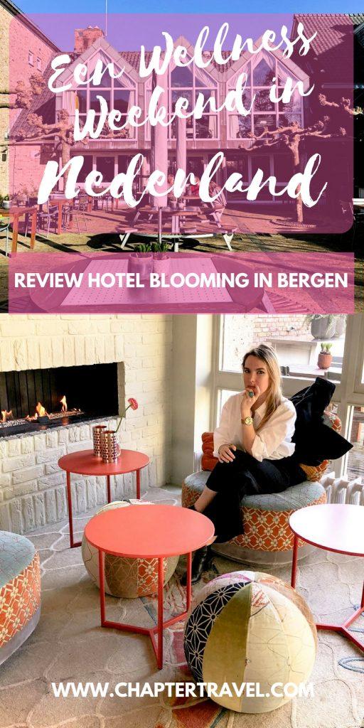 Op zoek naar een wellness weekend in Nederland? We raden zeker Hotel blooming in Bergen aan!