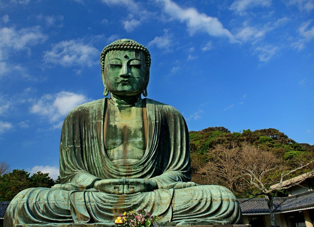 Kamakura is a coastal town in Kanagawa, located less than an hour south of Tokyo. The statue is known as Kamakura Daibutsu (great buddha of Kamakura). It's located at Kotoku-in