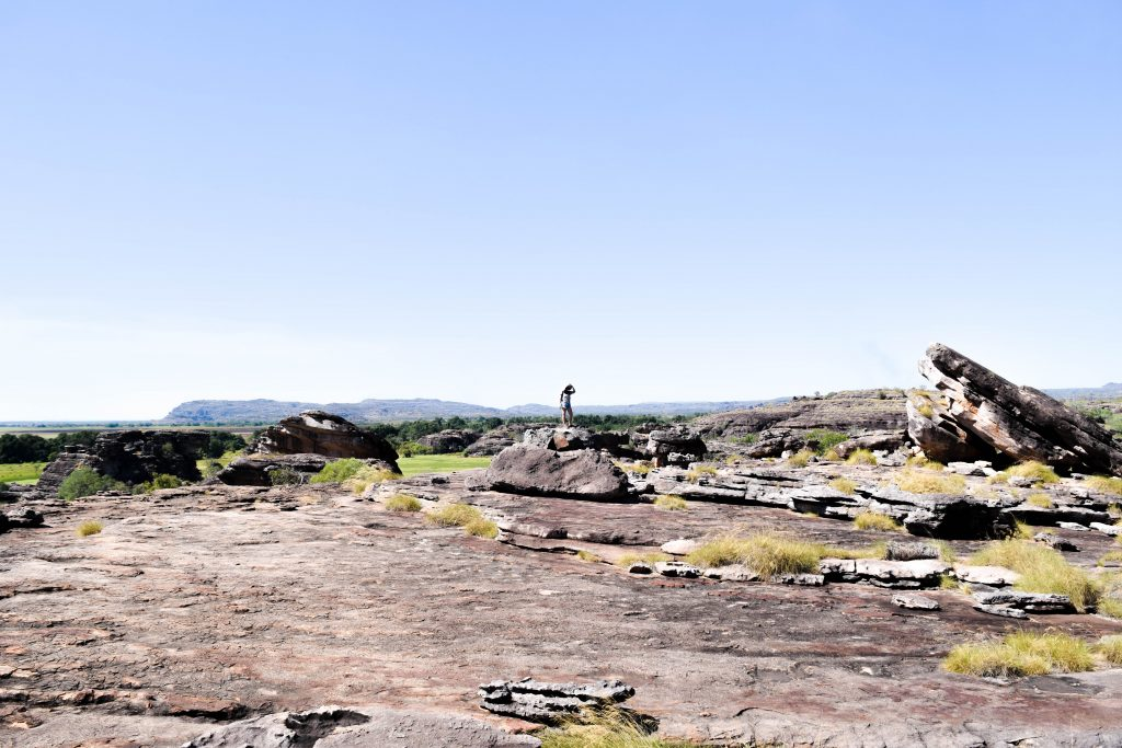 Australia is perfect for outdoor freaks. Here you can see me in Kakadu National Park, taking a hike! Amazing trails in Northern Territory, but also in the rest of Australia you can find something for outdoor freaks