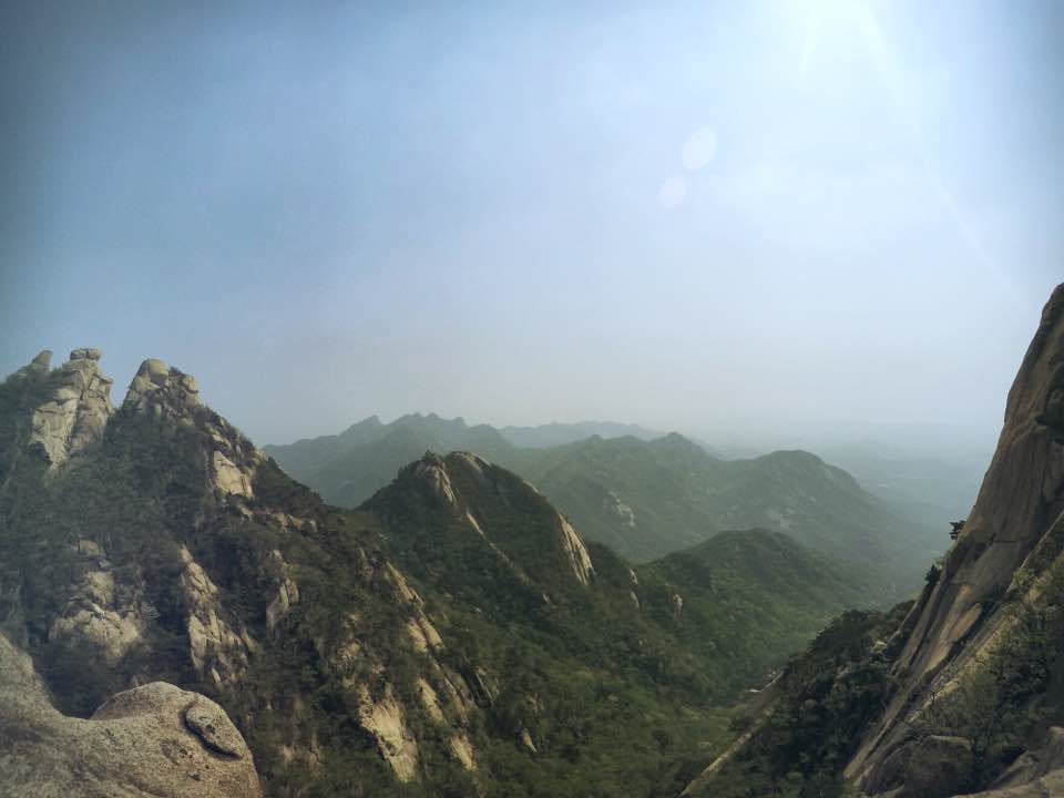 Bukhansan National Park in Seoul is a great place for nature lovers.