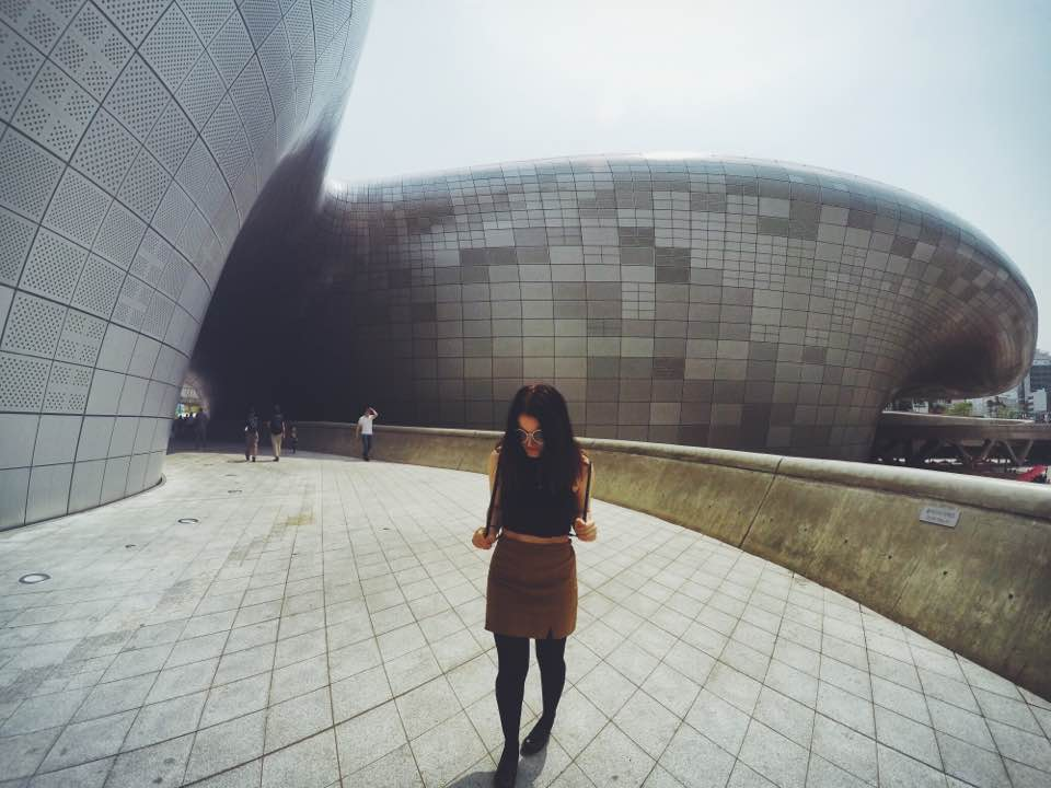 Dongdaemun Design Plaza is such a cool Instagram spot in Seoul. Especially for design lovers!