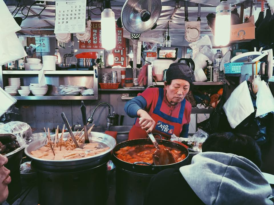 The Gwangjang Market is the first and oldest permanent market in Korea and a great place to take photos.
